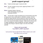 Teen Support Group Image