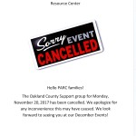 cancelled group