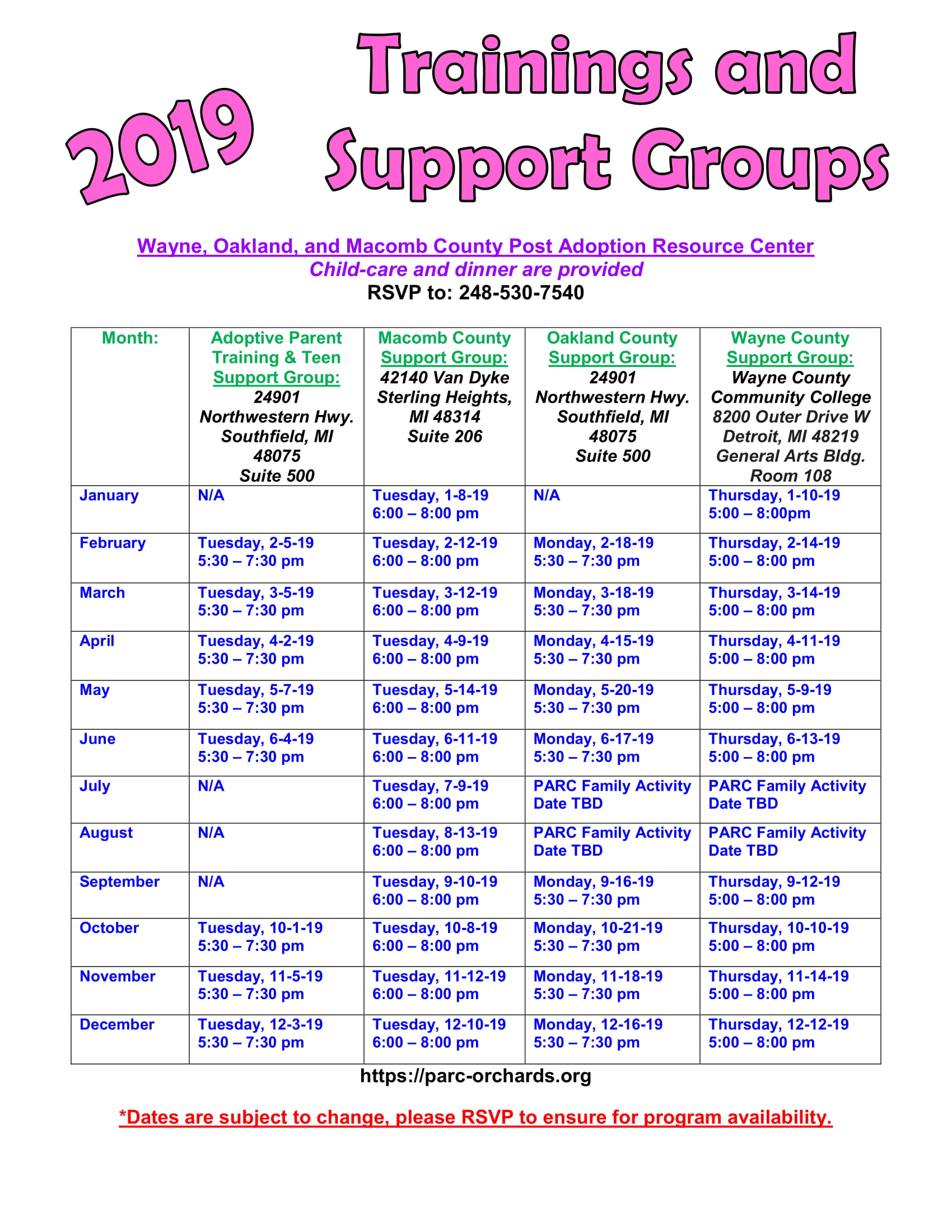 groups Teen numbers support
