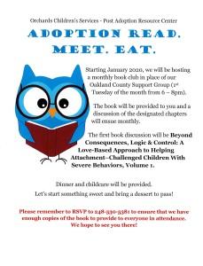 2020 Updated Adoption Read Meet Eat Flyer